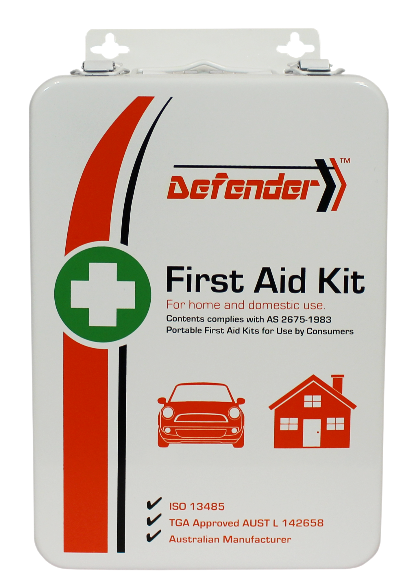 The Defender 3 Series First Aid Kit St James First Aid